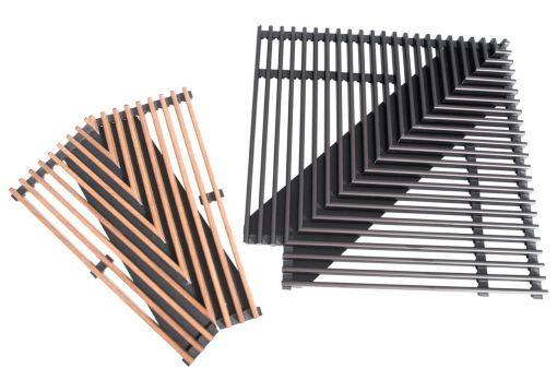 Угловые элементы решеток