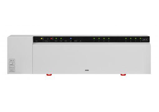 BSB 40212-08N  Базовая станция Alpha 2 BUS 24 VAC на 8 зон управления NC/NO, с выходом в Ethernet и Cloud.