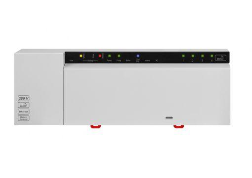 BSF 20202-04N2 Базовая радиостанция Alpha 2 Radio 230 VAC на 4 зоны управления NC/NO, с выходом в Ethernet и Cloud.